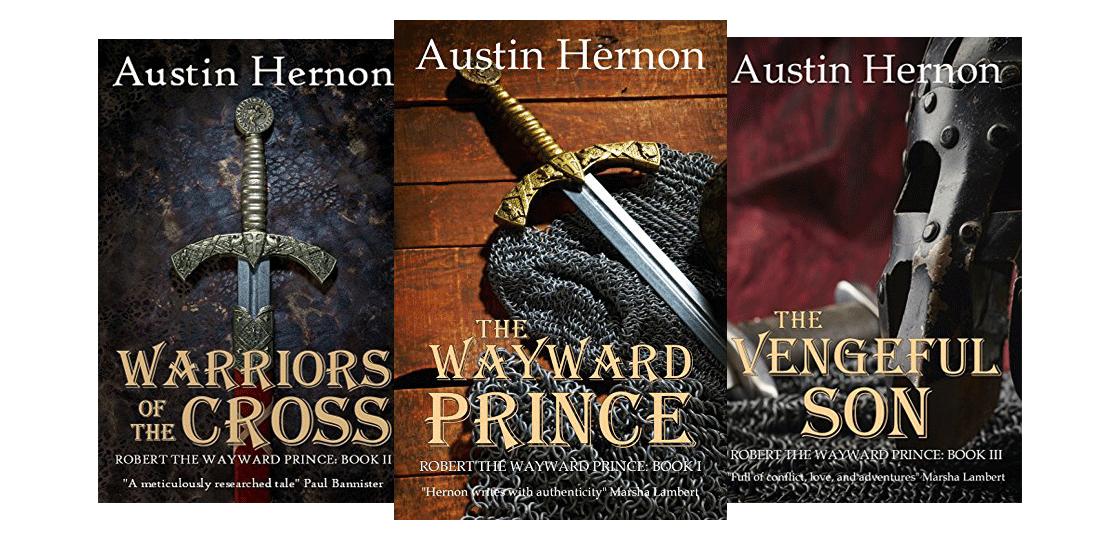 Robert The Wayward Prince - Book Series