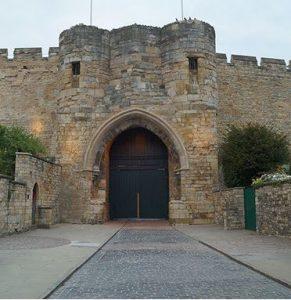 Lincoln castle gatehouse