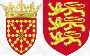 Flag of Jimenez (Navarre) and Flag of Plantagenets