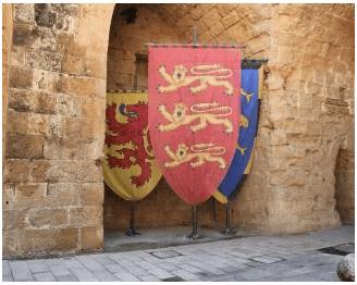 Crusader flags